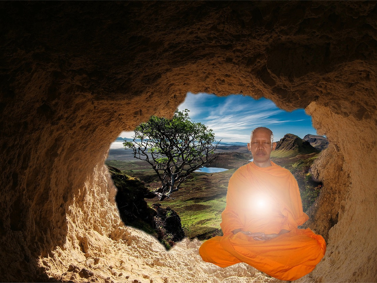 buddhist-Excourse in enlightenment